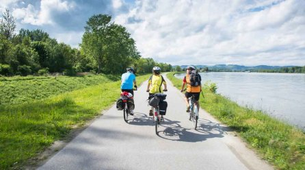 Fahrradtour auf dem Spreeradweg
